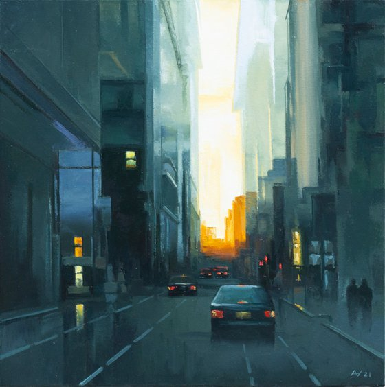 ABSTRACT CITYSCAPE 07