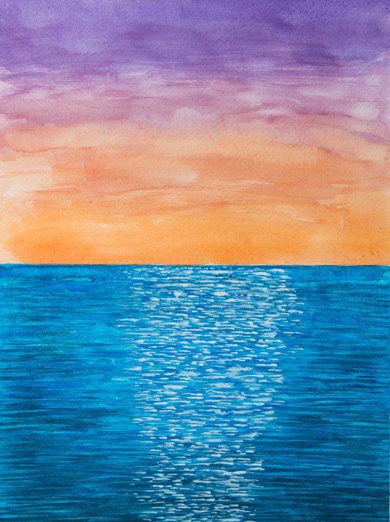 Shimmering Sunset -2