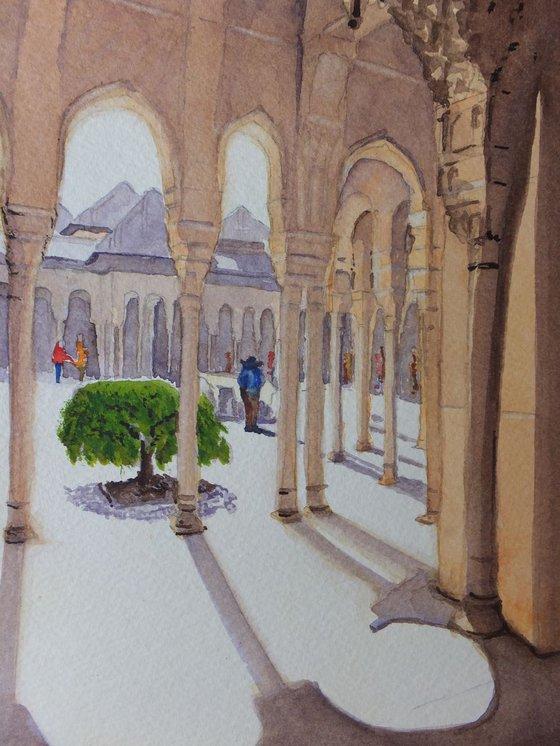 Walking Round the Alhambra