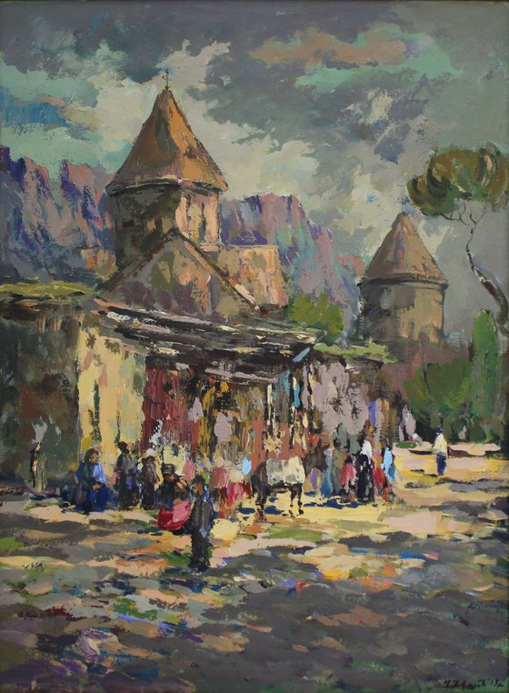 Haghartsin Monastery (UNESCO Heritage 13th century) - One of Kind