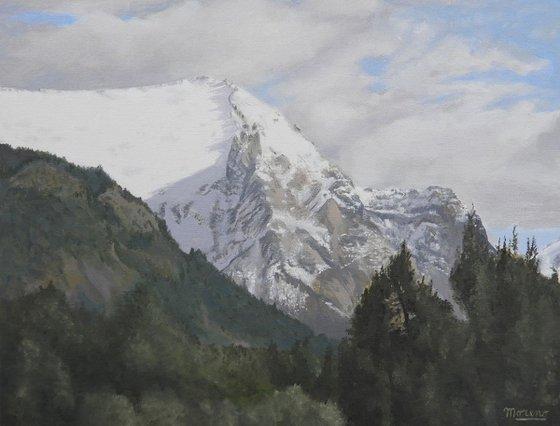 Summit of the mountain