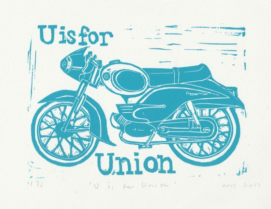 U is for Union Motorcycle