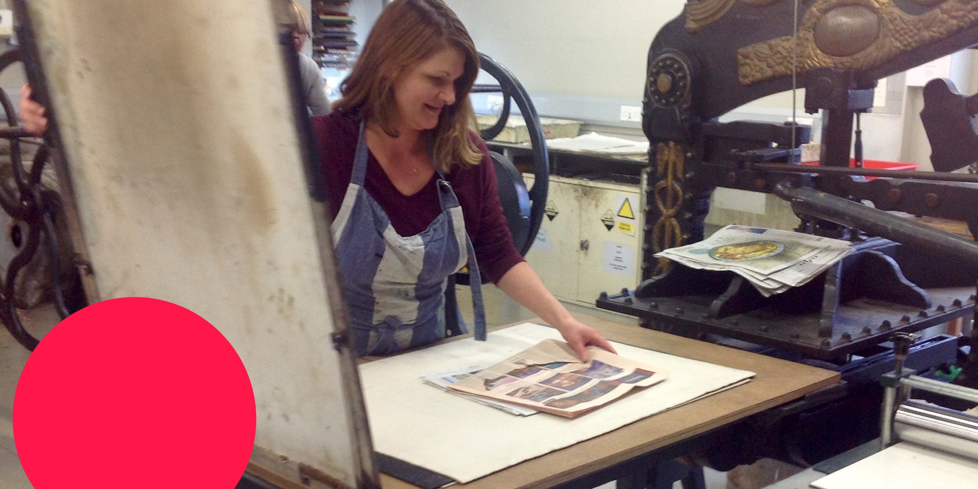 Printmaker Alison Headley on fairies, salt and pepper and how lino stole her heart