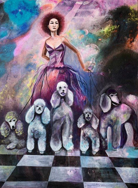 Painting | Acrylic | Doggie