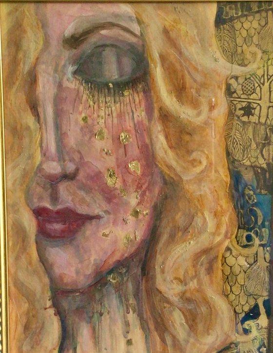 Homage to Klimt: Blue 2