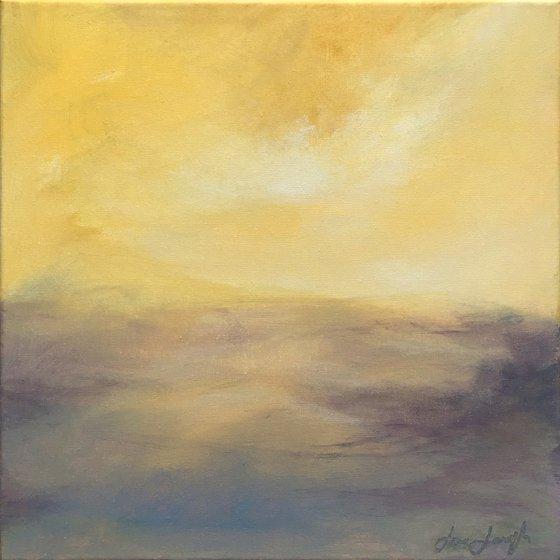 Illuminate II - original abstract landscape painting