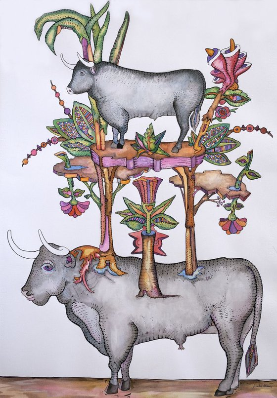 The bull and its descendants