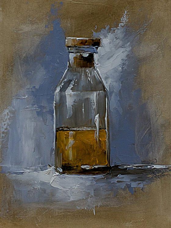 Still life painting.
