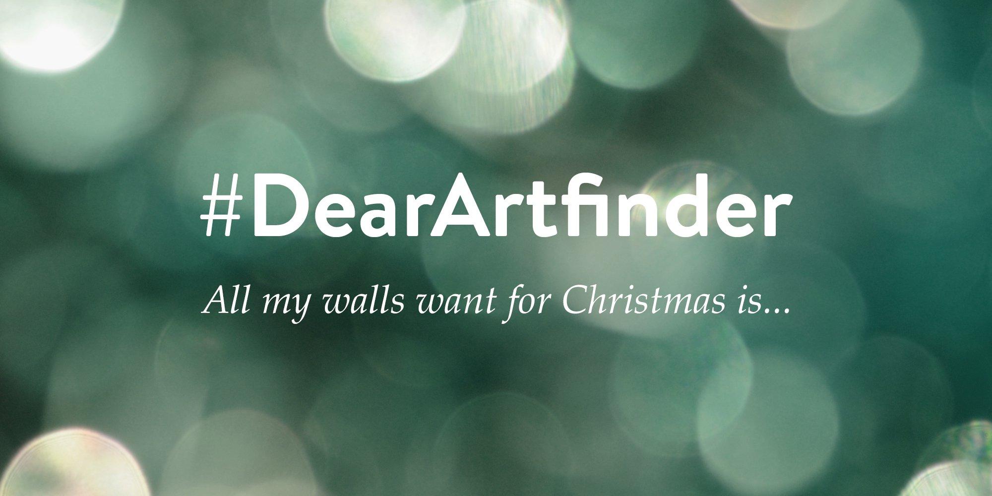 #DearArtfinder - Win an Artwork a Day!