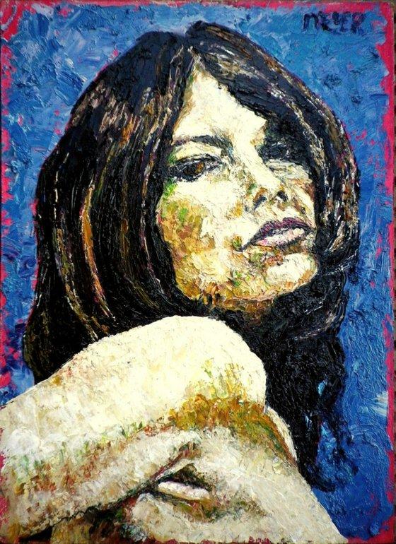 Portrait of a February girl