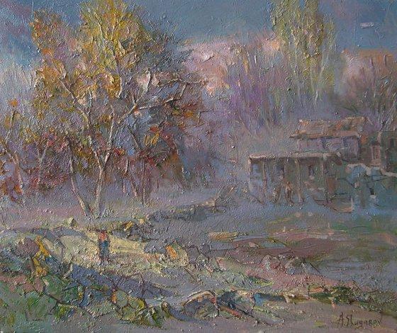 Evening (60x50 cm)