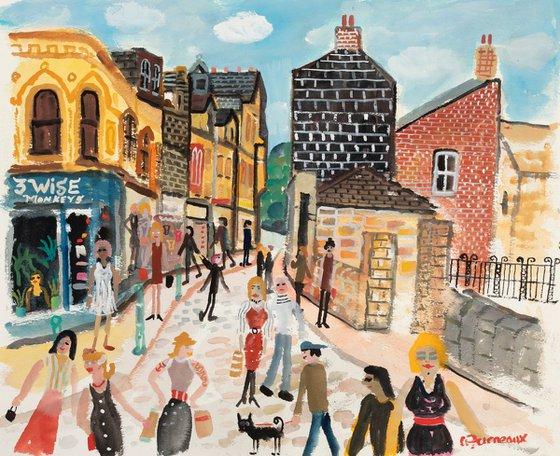 Shopping at Todmordon