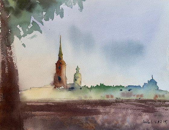 Vasilievsky island. St. Petersburg.