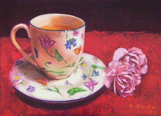 Teacup & Flower 12
