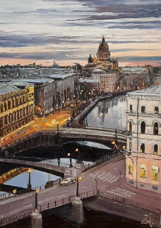 Санкт-Петербург. Ночь