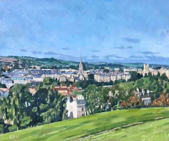 View From Bathwick Hill