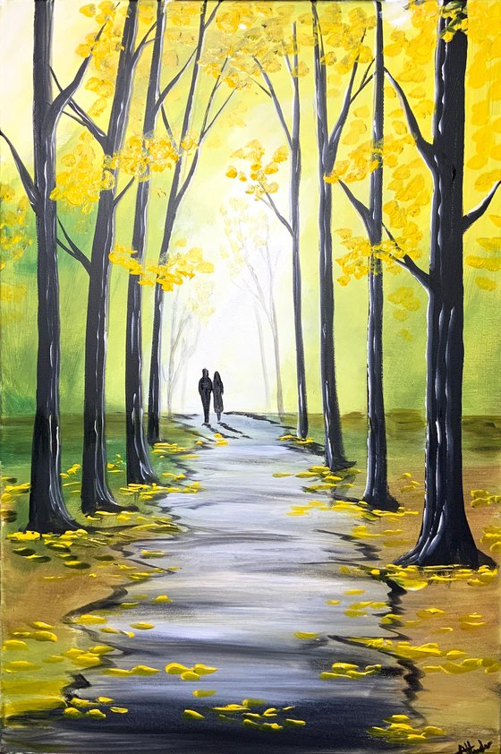 Yellow Hues Of Autumn 2