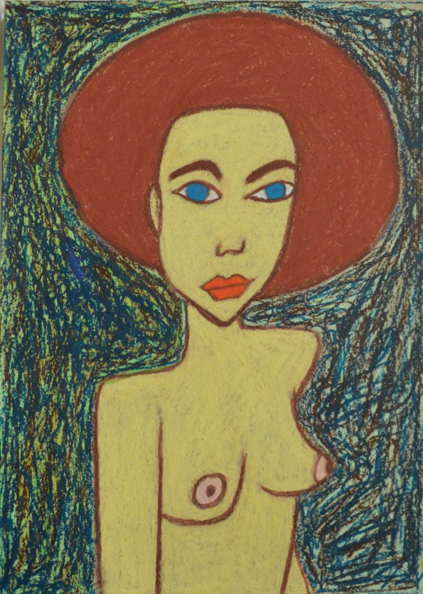 Oil pastel drawings nude milf deepthroat fucking