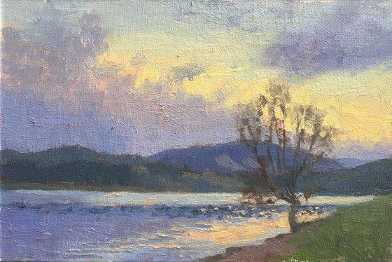 Hagg Lake Sunset