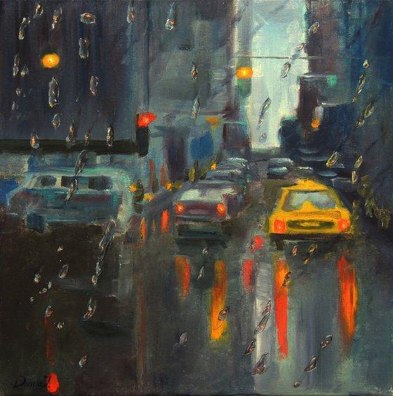 The City In Rain
