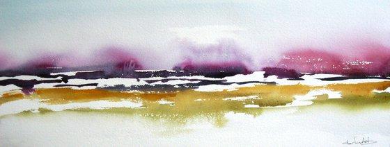 Colores Llano 3 - Original Watercolor Painting