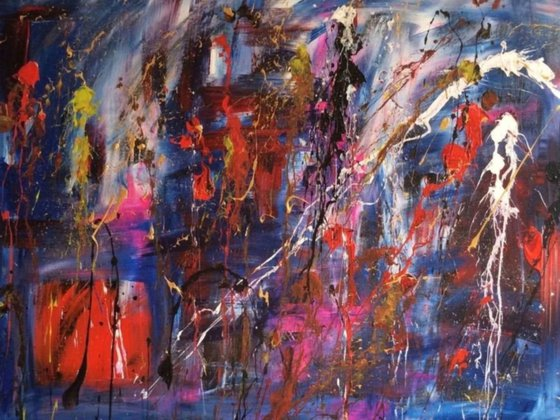 """""""Beauty And The Beast"""" 102x77x2cm"""
