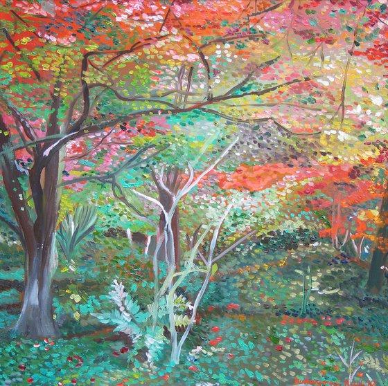 Forest still life 5