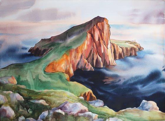 Isle of Skye. 75*55 cm -- Scottish landscape