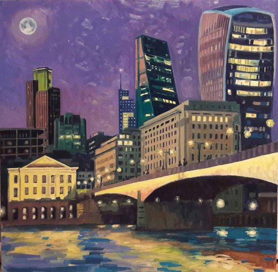 The City from London Bridge