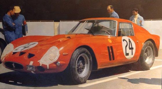 """Mythique Ferrari """