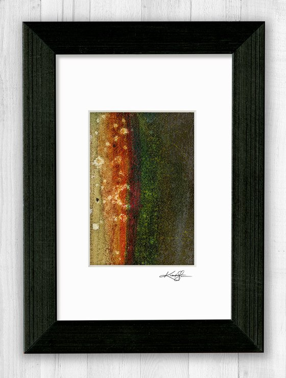 Abstract Composition 47 - Abstract painting by Kathy Morton Stanion