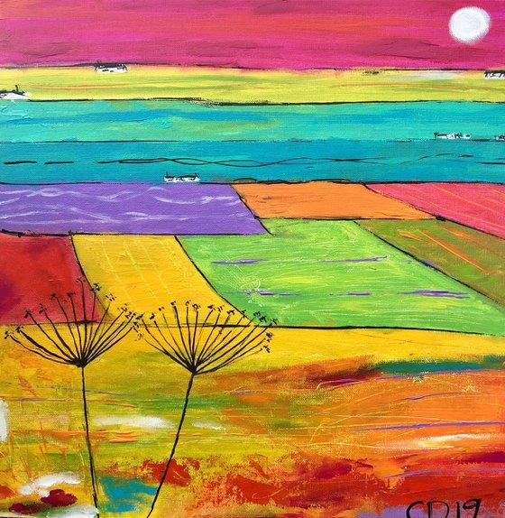 Colours of Summer -Scottish landscape