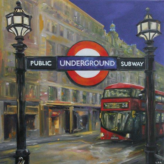 Public Underground Subway