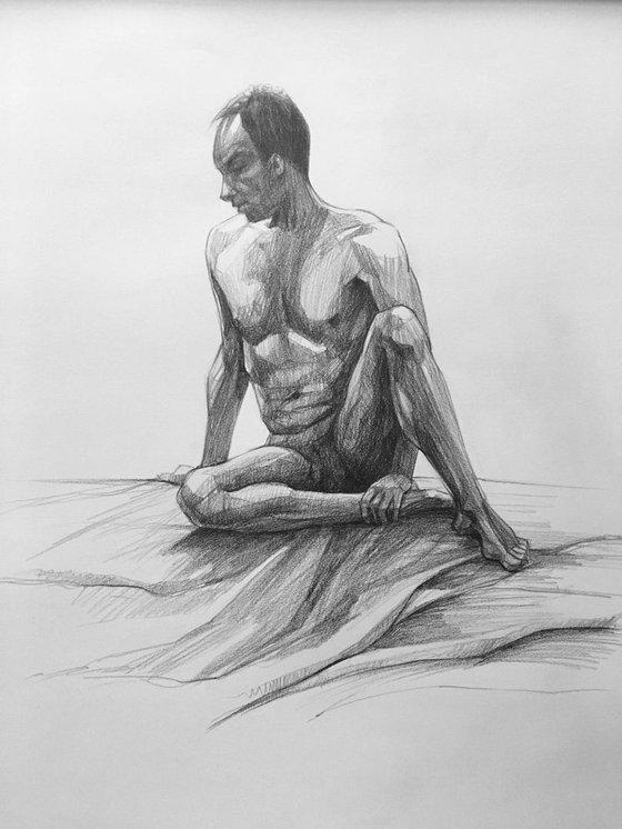 Figure Study_Sitting Man