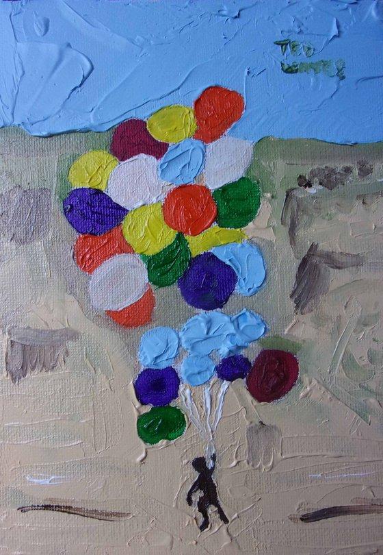 David Blaine's balloons