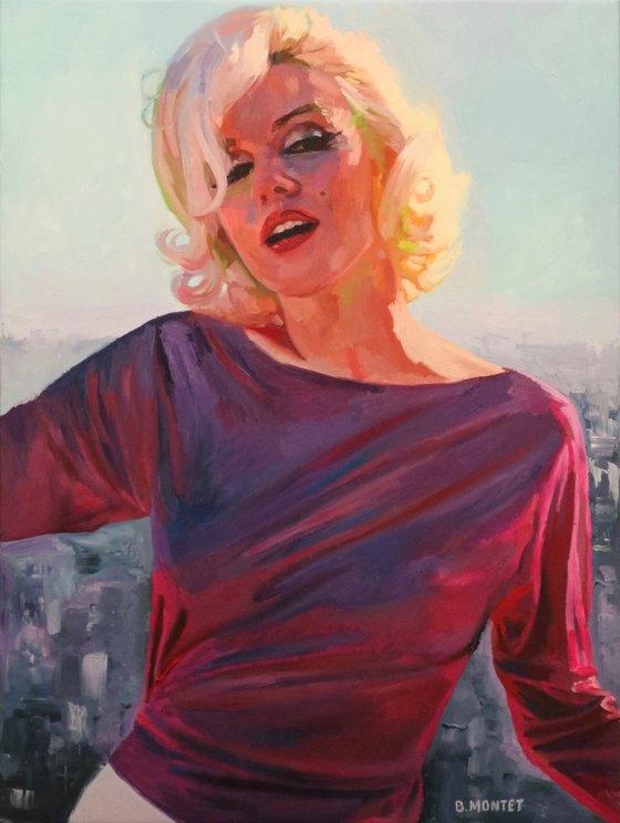 """ Pink Marilyn """