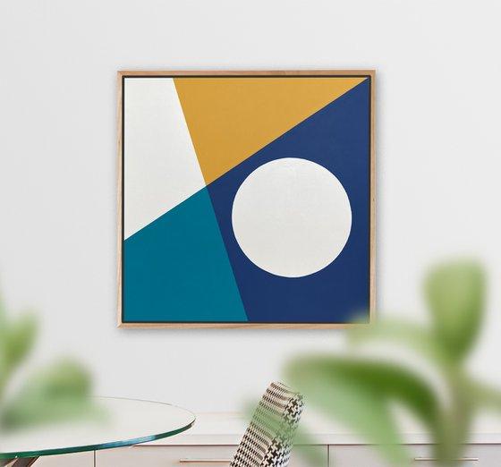 Aperture (Geometric Acrylic Painting)