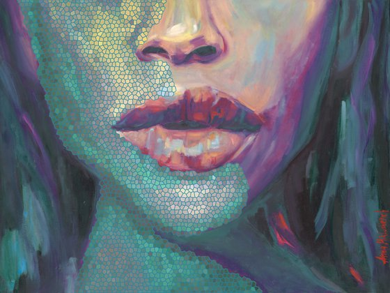 ILLUMINATED - Limited Edition of 10, Giclee prints on canvas
