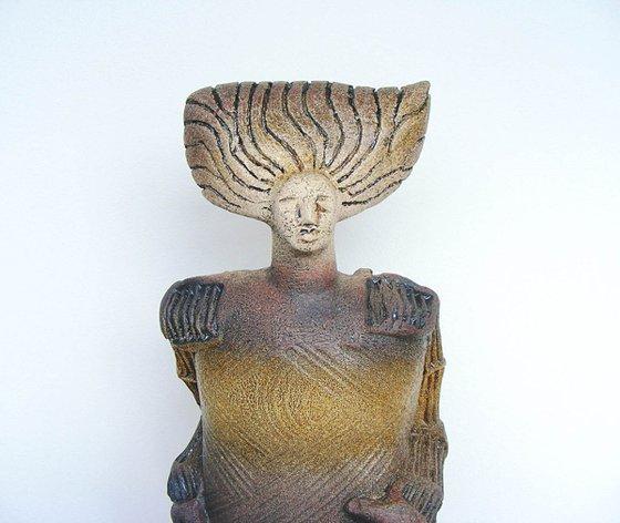 Ceramic Sculpture  -  Ganymede