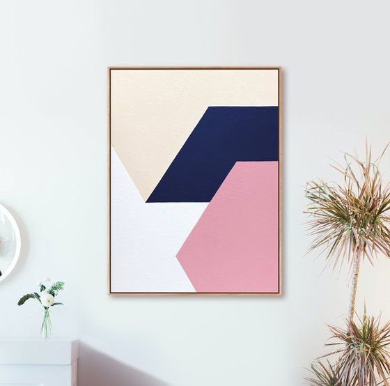Unity (Geometric Acrylic Painting)