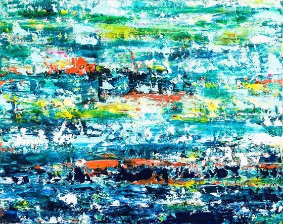 Costa Daurada - Abstract Seascape