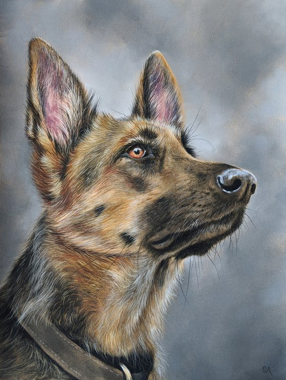 A Dogs Life II (Original Painting)