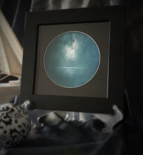 Moonstone Series - Rona, abstract seascape