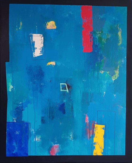 Blue composition II
