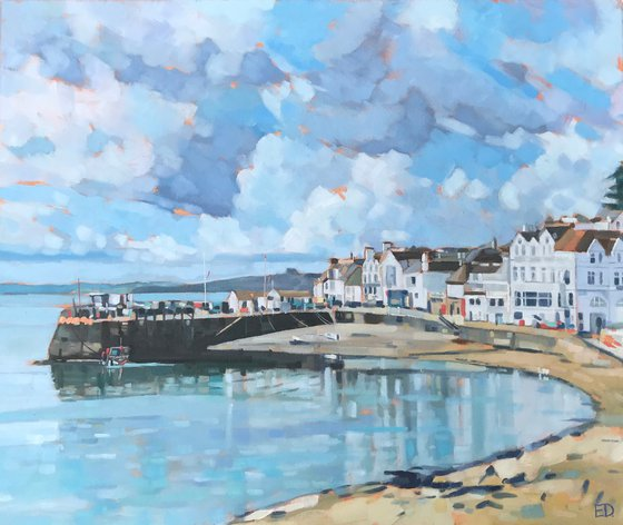 Low Tide, St Mawes Harbour