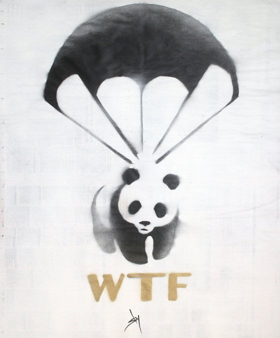 WTF (on canvas).