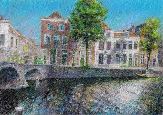 Leiden – Herengracht - 14-09-21 (sold)