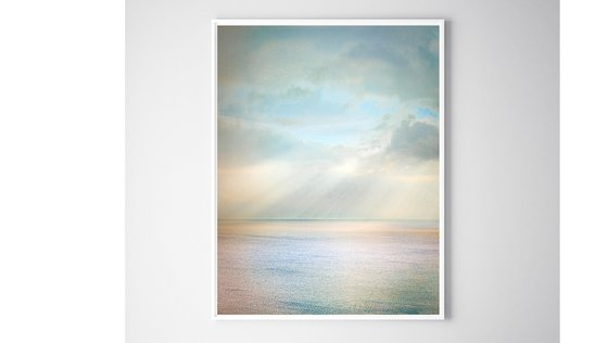 A Touch of Heaven - Float Framed