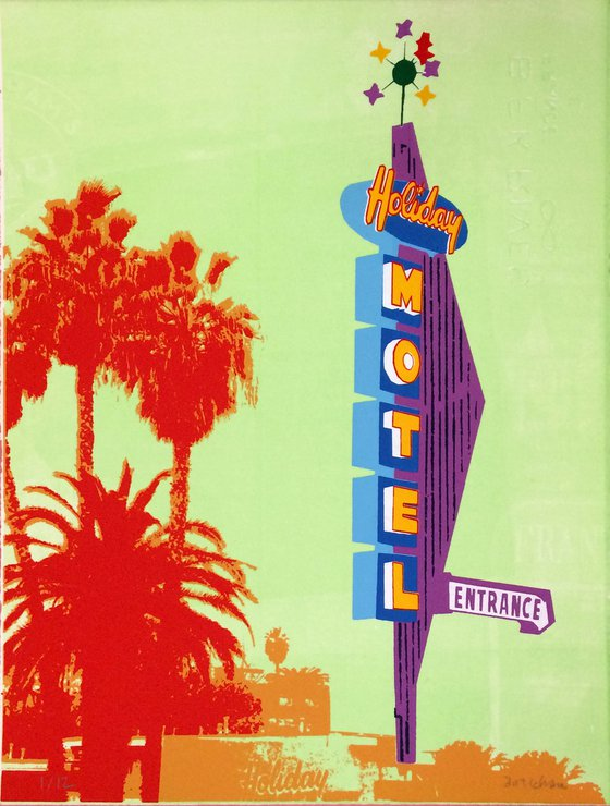 Los Angeles signs and palmtrees 16