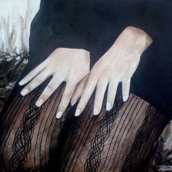 Original acrylic painting-Q1